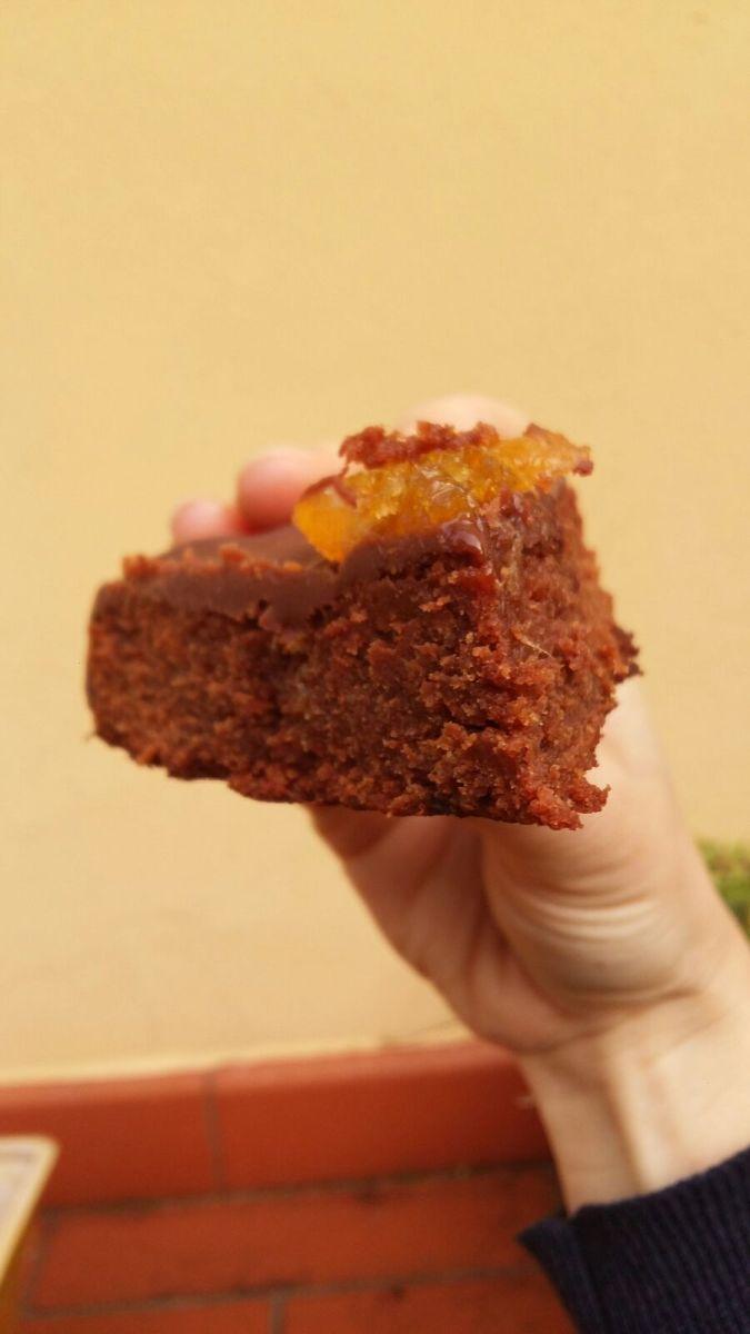 Torta cioccolato e marmellata di arance!